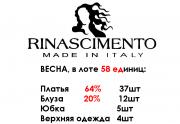 Оптом RINASCIMENTO женский микс платья 58 шт доставка из г.Киев